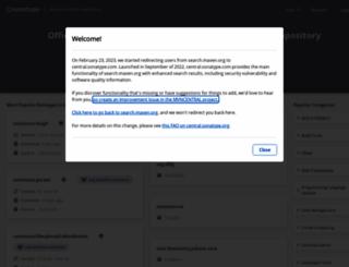 maven.org screenshot