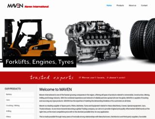 mavenae.com screenshot