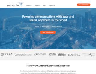 mavenlab.com screenshot