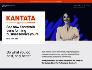 mavenlink.com screenshot