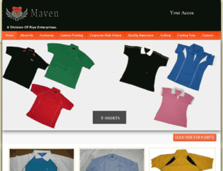 mavensarray.com screenshot
