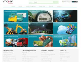mavensystems.com screenshot