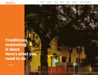 maverick.co.id screenshot