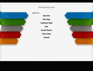 maverickssurf.com screenshot