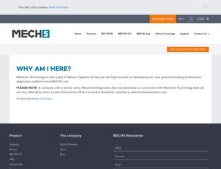 mavericktechnology.co.uk screenshot