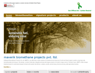 maverikbiomethane.com screenshot