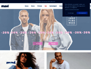 mavi-store.de screenshot