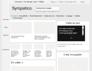 mavie.sympatico.ca screenshot