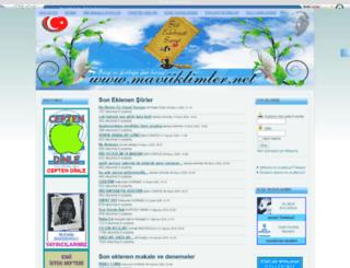maviiklimler.net screenshot
