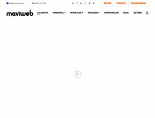maviweb.com screenshot