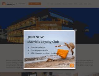 mavridis-hotel.gr screenshot