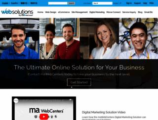 mawebcenters.com screenshot