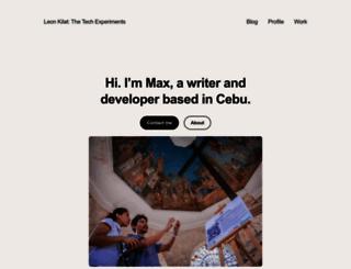 max.limpag.com screenshot