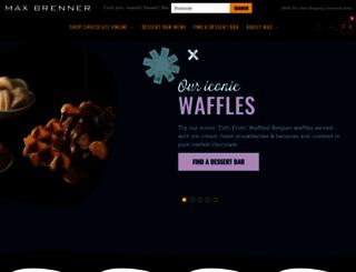 maxbrenner.com.au screenshot