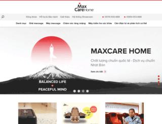 maxcare.com.vn screenshot