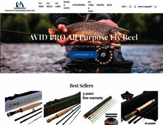 maxcatchfishing.com screenshot