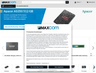maxcom.de screenshot
