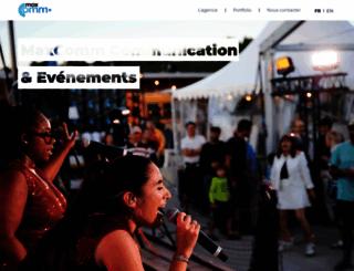 maxcomm.ch screenshot