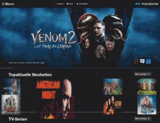 maxdome.at screenshot