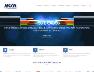 maxel.com.br screenshot