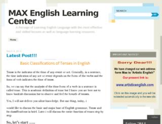 maxelc.wordpress.com screenshot