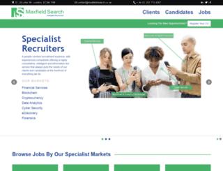 maxfieldsearch.co.uk screenshot