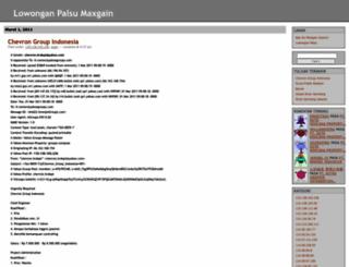 maxgain.wordpress.com screenshot
