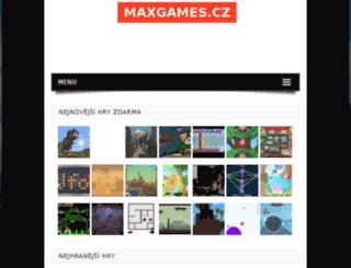 maxgames.cz screenshot