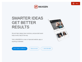 maxgen.co.nz screenshot