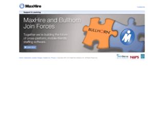 maxhire.net screenshot
