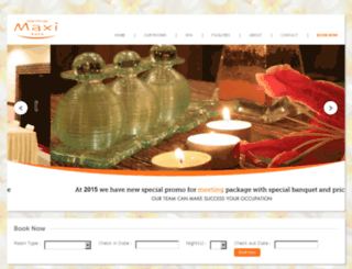 maxi-hotel.com screenshot