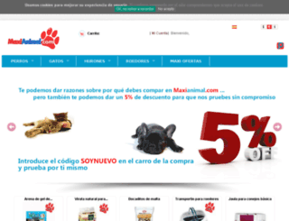 maxianimal.com screenshot
