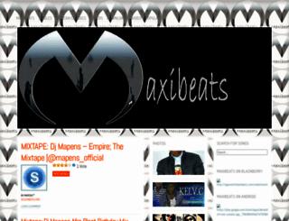 maxibeats.wordpress.com screenshot