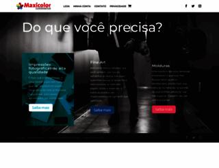 maxicolor.com.br screenshot