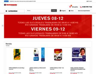 maxiconsumo.com screenshot