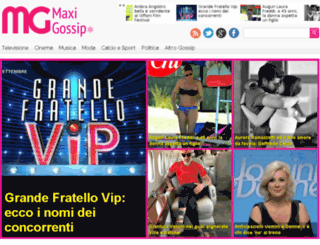 maxigossip.com screenshot