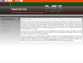 maxihall.net screenshot