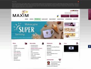 maxim.com.pl screenshot