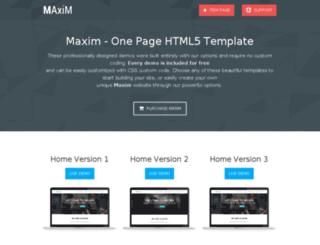 maxim.ljmilev.com screenshot