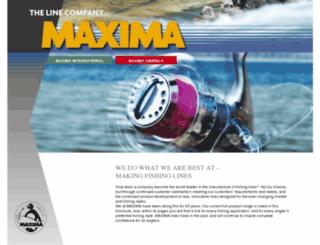 maxima-lines.com screenshot