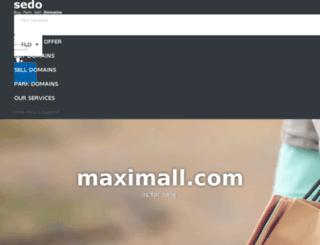 maximall.com screenshot