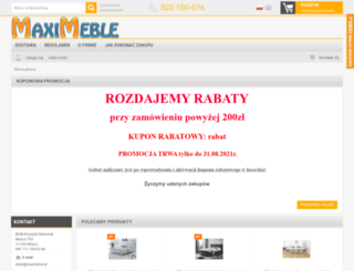 maximeble.pl screenshot