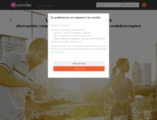 maximiles.es screenshot