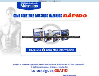 maximizadordemusculos.com screenshot