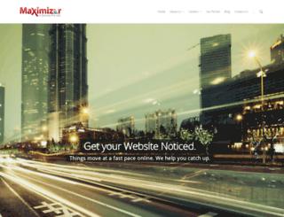 maximizerservices.com screenshot