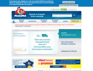 maximo.fr screenshot