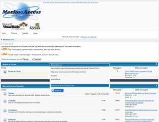 maximoaccess.com screenshot