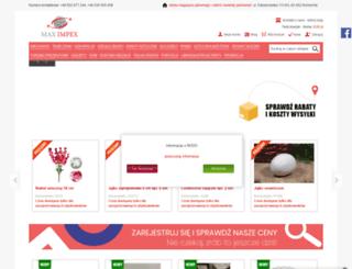 maximpex.pl screenshot