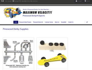 maximum-velocity.com screenshot