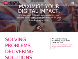 maximum.marketing screenshot